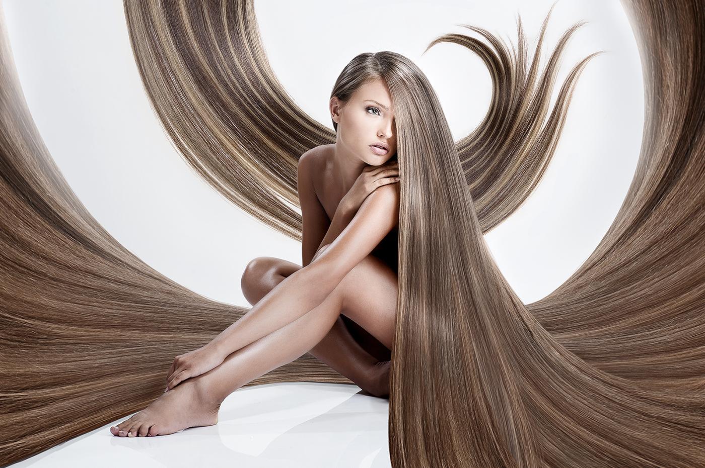Супер длинные волосы 5 фотография