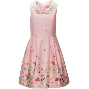 Платье розовое фаберлик для девочки