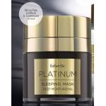 арт.0331 Ночная маска для лица Platinum / Платинум
