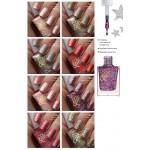 арт.7795-7832 Лак для ногтей с блестками Color & Effect